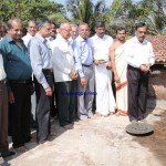 bharathi college foundation laying pooja bya M Narayana Bhat DGM Corp Bank2