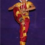 ನಿಖಿತಾ ಕಾಶಿಮಠದ ನೃತ್ಯ ಭಂಗಿ