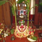 ಸತ್ಯನಾರಾಯಣಪೂಜಾ - ಮಂಗಳಾರತಿಗೆ ರೆಡಿ