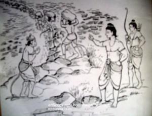 ಸೇತು ಬ೦ಧನ ಚಿತ್ರಃ ಮಧುರಕಾನನ ಬಾಲಣ್ಣ