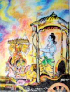 ರಾಮ- ರಾವಣ ಯುದ್ಧ