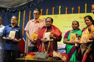 ಡಾ||ಬಾಲಮುರಳೀಕೃಷ್ಣ 'ಸಂಗೀತಯಾನ' ಪುಸ್ತಕ ಬಿಡುಗಡೆ ಮಾಡಿದ್ಸು.